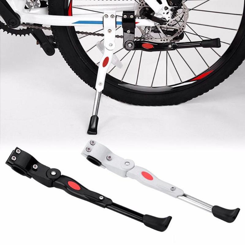 Portable Bike Kick Stand Aluminum  Cycling Bicycle Brace Parking Leg Rod Parts
