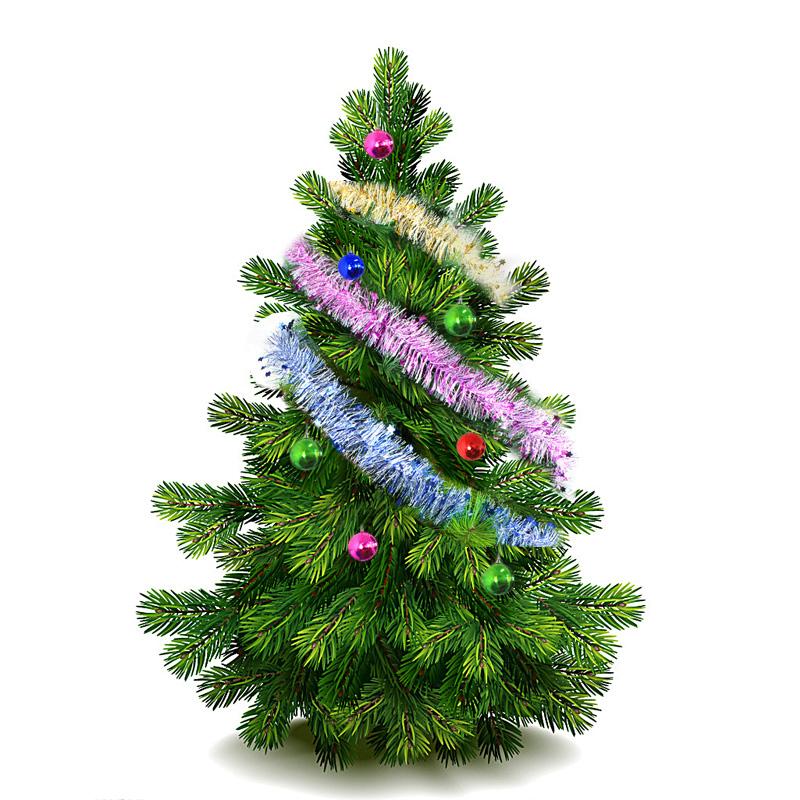 24PCs Pendant Christmas Trees Decoration Originality Accessories Gift GW