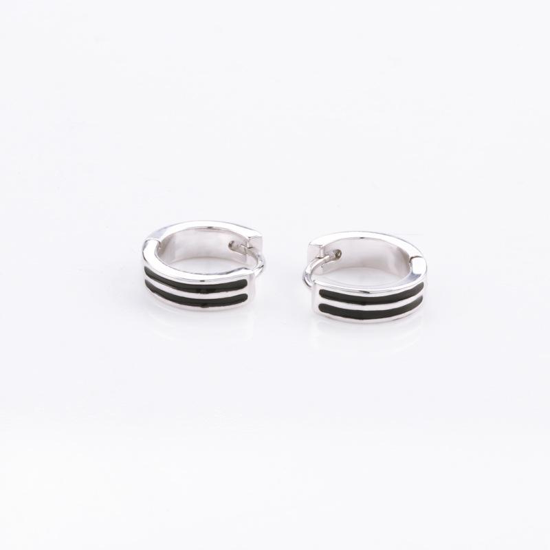 Regalo di festa degli orecchini delle signore d'argento di modo popolare popolare semplice classico d'argento classico 925