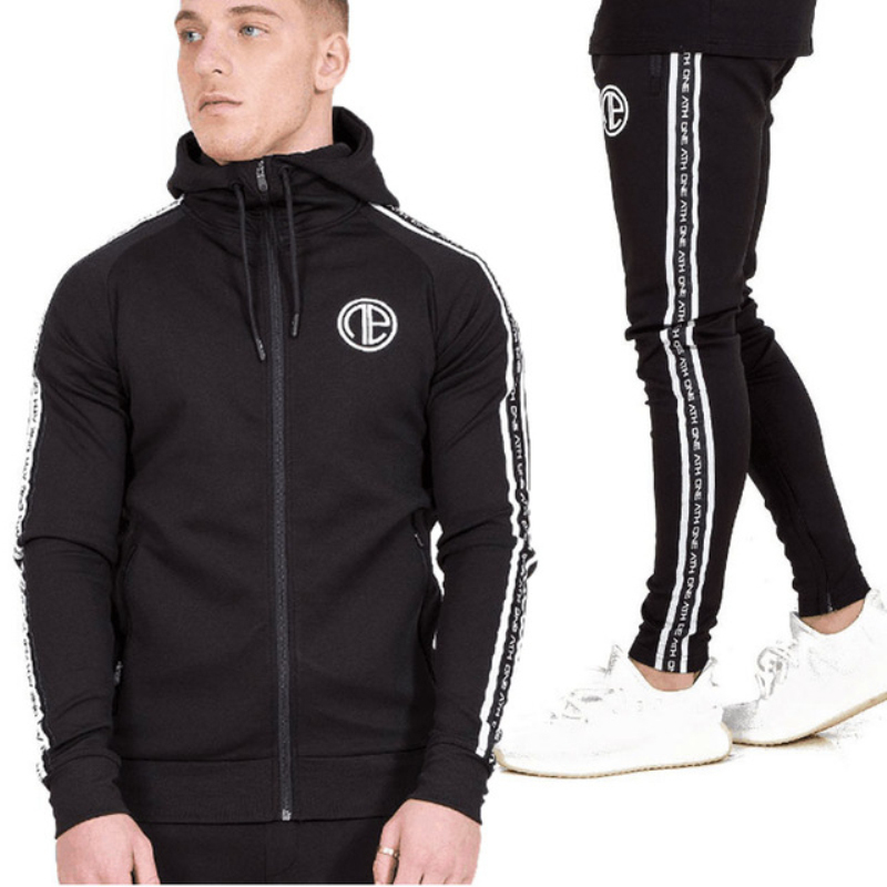 Male Tracksuit Sporting Sweat Suits-8