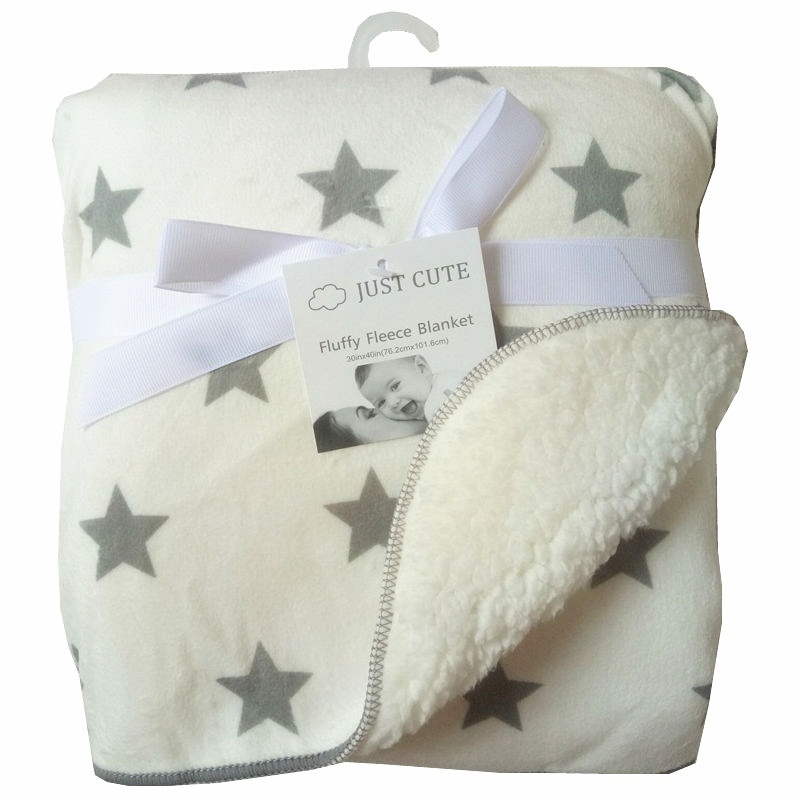 Baby-Blankets--New-Thicken-Double-Layer-Coral-Fleece-Infant-Swaddle-Bebe-Envelope-Stroller-Wrap-Newborn (3)