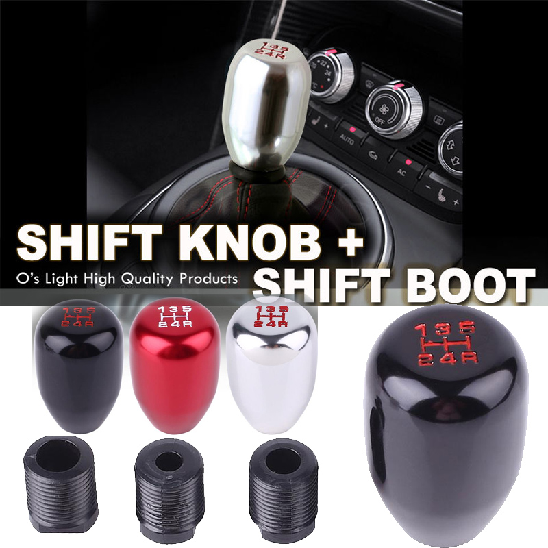 Cocas 5 Speed 6 Speed Manual Auto Car Gear Shift Knob Stick Head for BMW E30 E34 Z3 E46 E36A1 E36A2 Shift Knob Cover Handle Shifter#1
