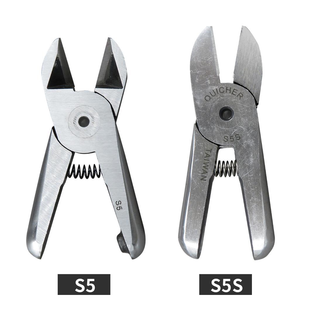Combinación Pinzas Tijeras Cortador lateral Cizalla Herramientas accesorios de bricolaje de agarre suave
