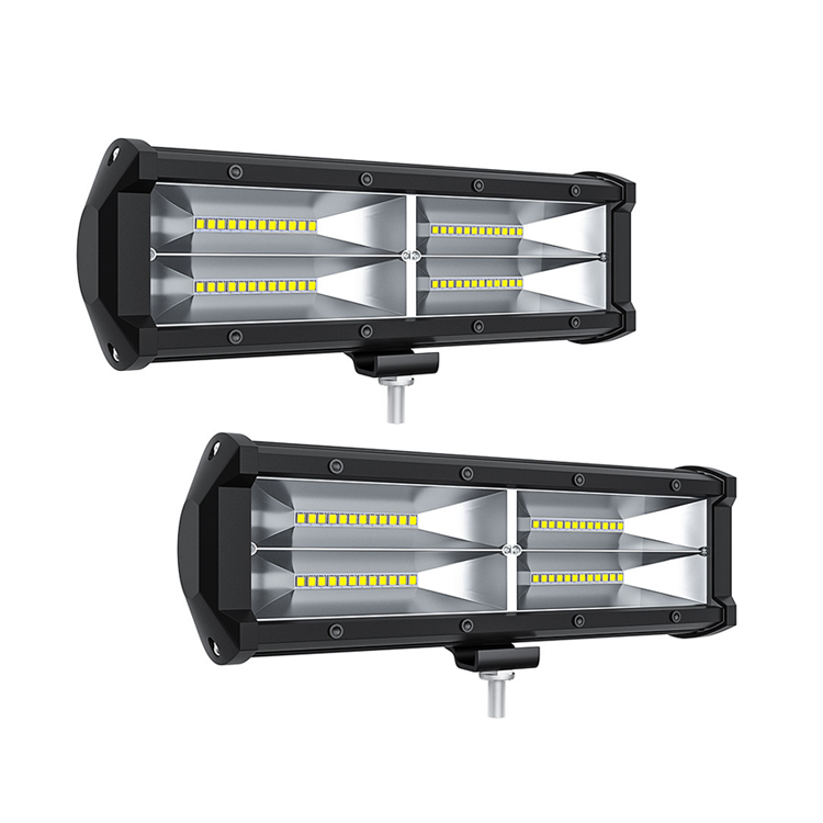 """Barra luz Carro LED 24W 4pcs de 3/"""" inundacion Cubo Pod Luz niebla Coche auto"""
