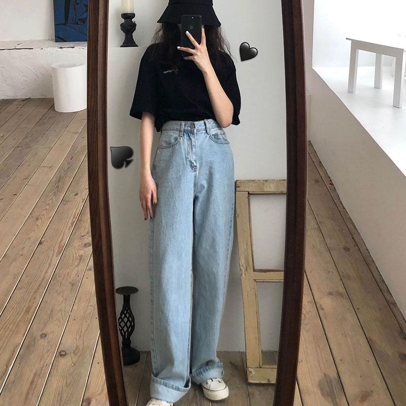 Cualquier Cosa Pastel Trabajo Duro Pantalones Estilo Coreano Mujer Ocmeditation Org