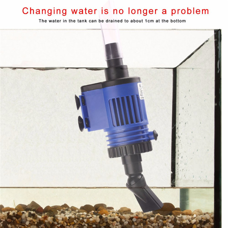 Automatic Aquarium Water Changer Clean Vacuum Water Change Gravel Pump Fish Feces Siphon Sand Washer Filter Fish Tank Cleaner11