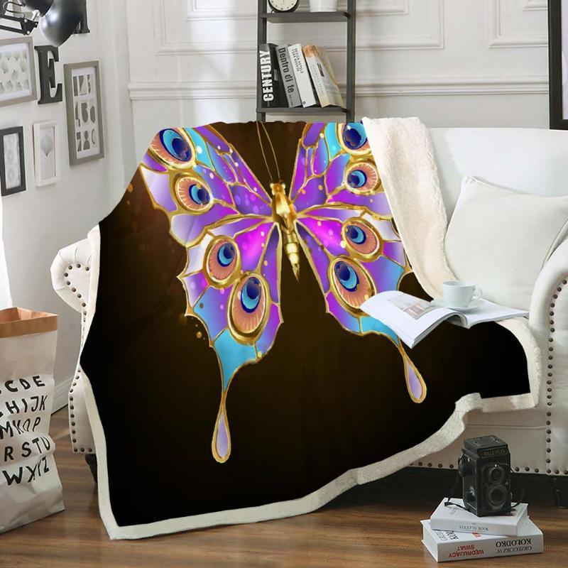 Elegant Home Cute Beautiful Girls Mutlicolor Purple Butterflies Daisy Flowers Design 2 Piece Coverlet Bedspread for Kids Teens//Girls Twin Size # Butterfly Lilac Twin Size Elegant Home Decor