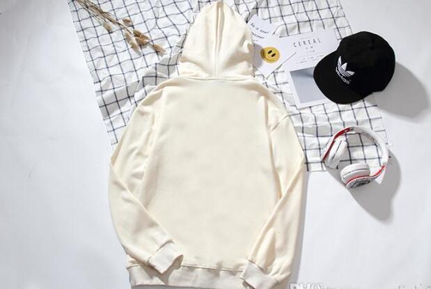 Moda de ww new street hoodie hombres mujeres sudadera con capucha sudadera hip hop hood sudadera con capucha para hombre algodón mezcla