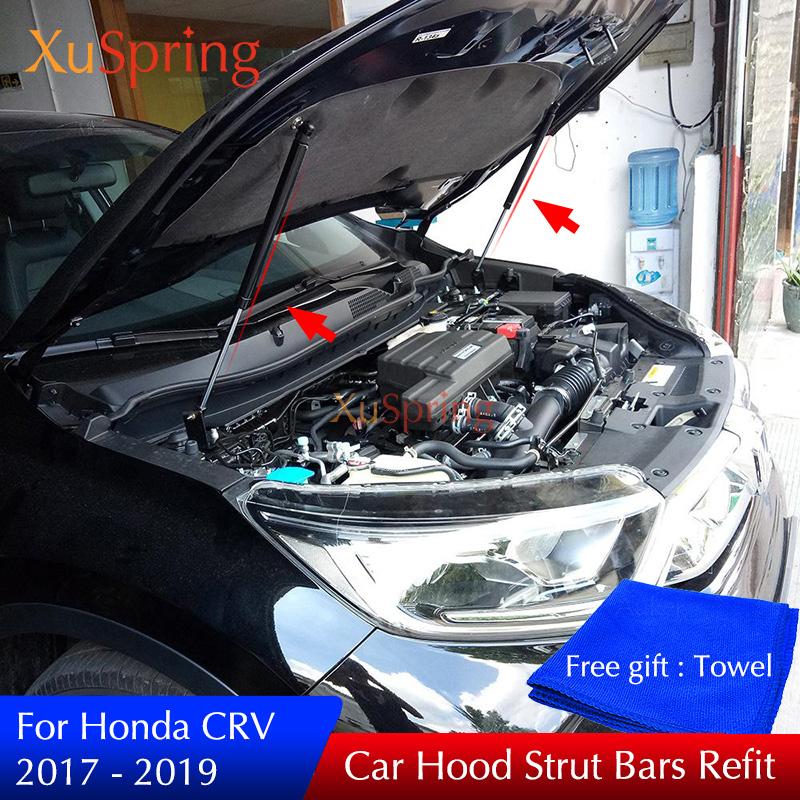 02-06 Honda CR-V CRV SUV Engine Hood Lift Shock Carbon Fiber Strut Shock Damper