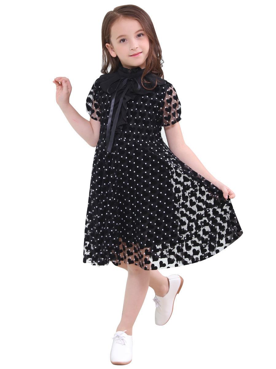 Compre Vestido Elegante Para Niños Disfraces Para Niñas Vestidos De Verano Para Niñas Adolescentes Ropa Para Adolescentes Vestidos Casuales Para Niños