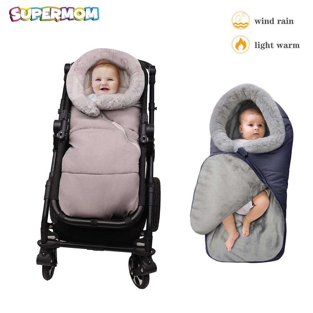 Christmas Deer 1PC Baby Blanket Baby Stroller Waterproof Windproof Windproof Blanket Baby Car Canopy Cover Infant Sleeping Blanket