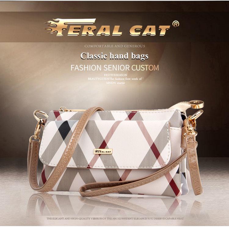 Feral Cat Women Bag Leather Handbag Women Shoulder Bag Tote Pvc Letter Luxury Handbags Women Bags Designer Bolsa Feminina T191024 Leather Tote Leather