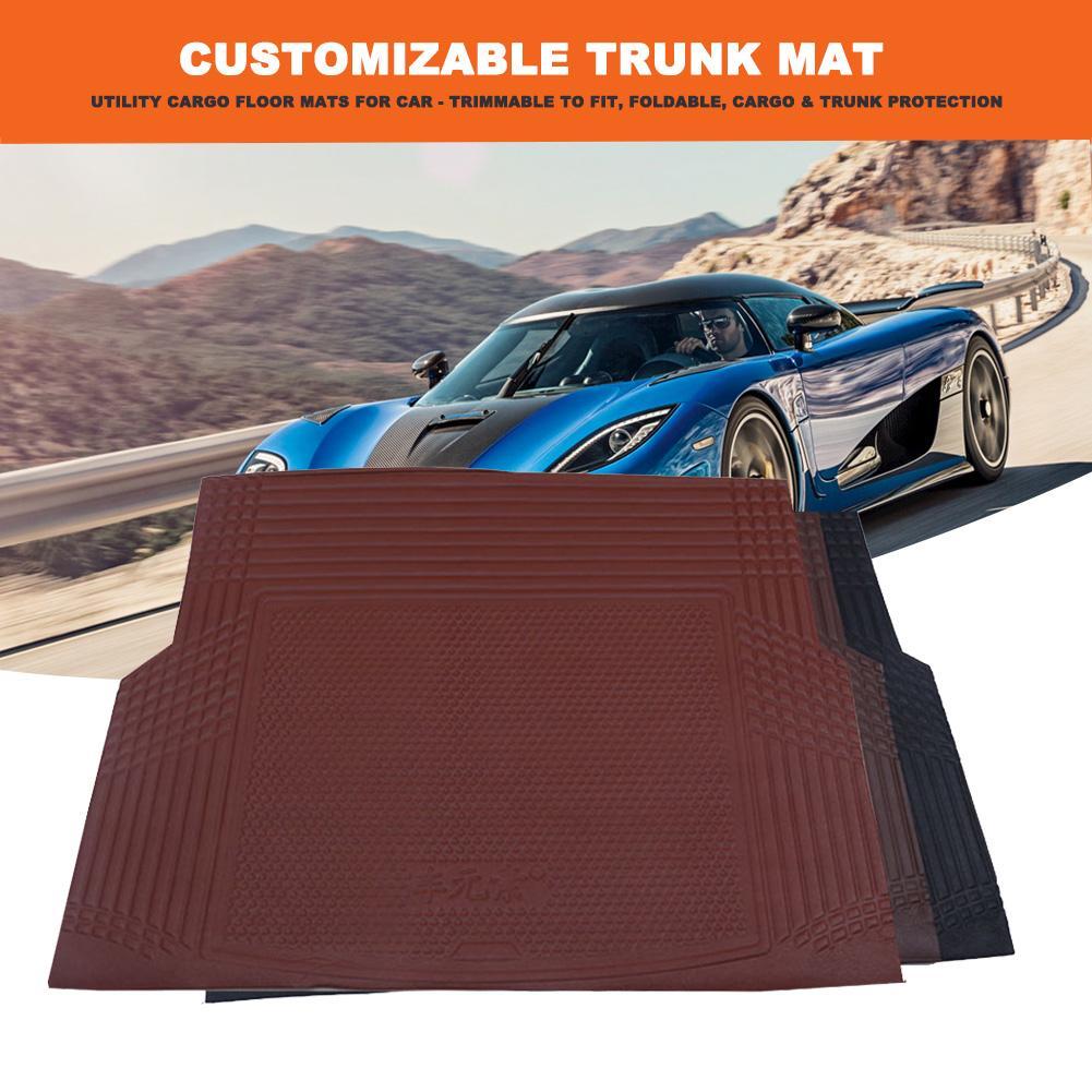Car Rear Trunk Cargo Floor Protection Mat Pad Liner For Toyota RAV4 2007-2012
