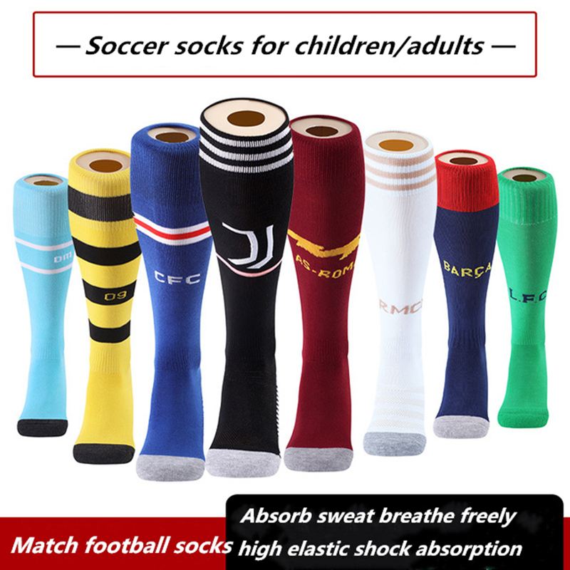 new Children BOYS kids  football  SOCCER SOCKS ONE SIZE fit 6-12 years