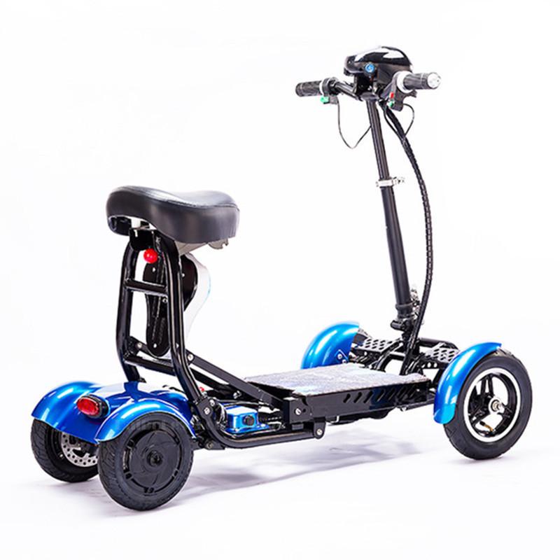 Daibot Four Wheel Electric Skateboard Portable Electric Scooters 10 Inch 36V Foldable Electric Scooter For DisabledElderly (45)
