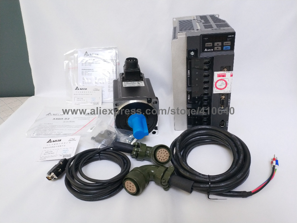 Delta 2KW Servo motor and Drive (4)