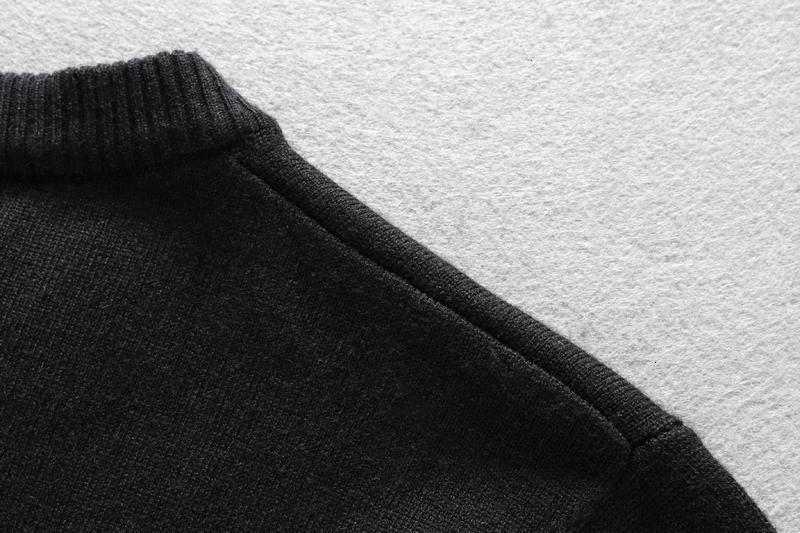 Ну Мода и теплые свитера мужчины и женщины Оригинальный дизайн свитера пуловер вязаный свитер Удобный Tbh556