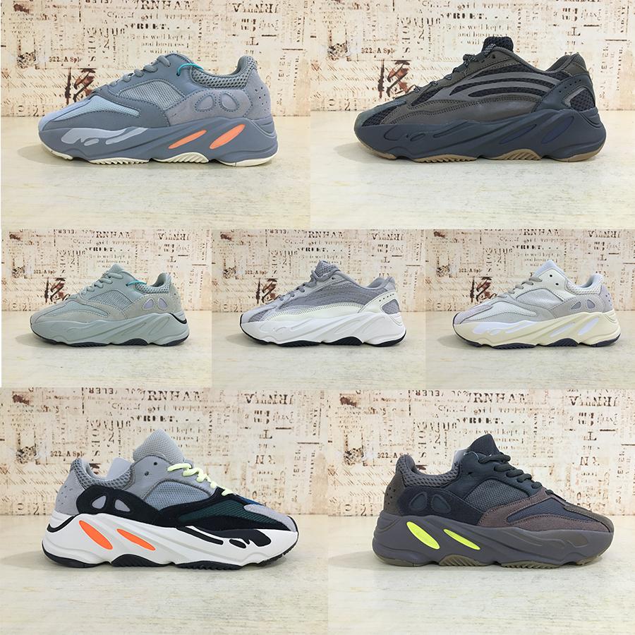 2020 Sneakers stock x New Kanye West Sports shoesyeezyyeezysyezzyyezzys 700 v2 v3 wave Running Shoes Static White Sesa