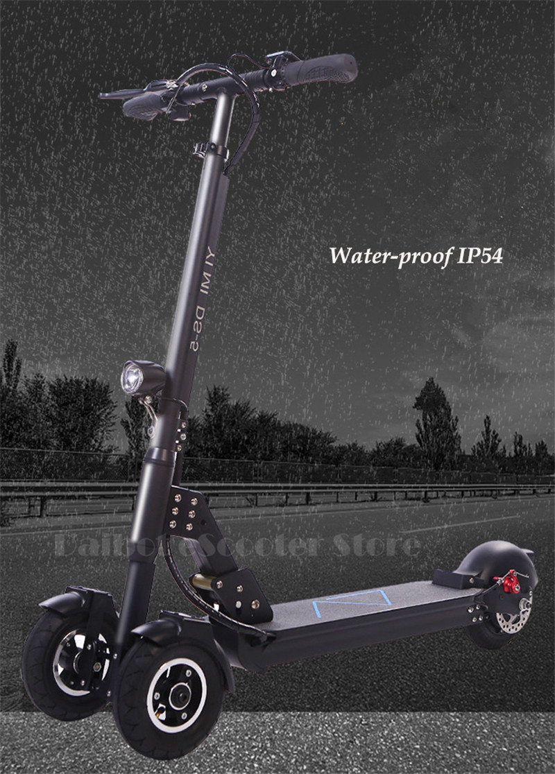 Daibot 3 Wheel Electric Scooter With Seat Electric Scooters 8 inch 400W 36V500W 48V Folding Electric Skateboard For Adults (6)