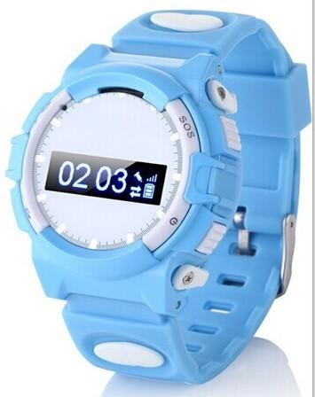 Smart2019 W80 Edith Love Children Intelligence Wrist Watch Bring Gps Trajectory Track Two-way Conversation Defence Throw