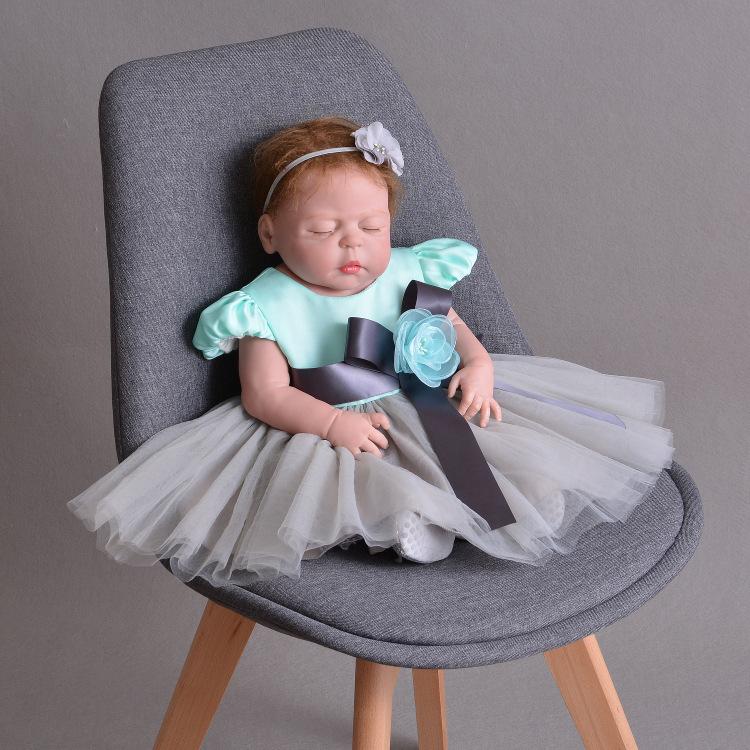 15 цветов! Детское платье Цветочница Платья Новорожденных Одежда Vestido Infantil Новорожденная Принцесса День Рождения Белый Крещение Y19061101
