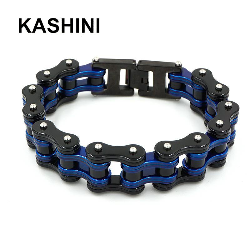 motorcycle chain bracelet 01