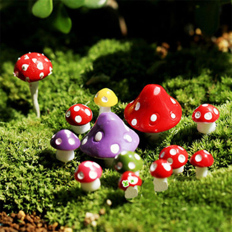 Rabatt Mushroom Garden Decor 2020 Mushroom Garden Decor Im