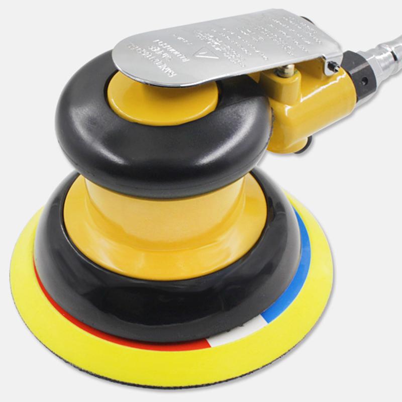 Mini Air Sander Kit Dual Action pneumatische Polierer Polierwerkzeuge für Auto