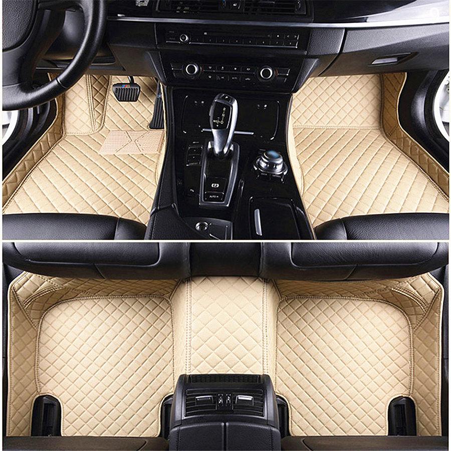 For AUDI A5 2011-2016 Car Floor Mat Front Rear Liner Auto Mats Carpets