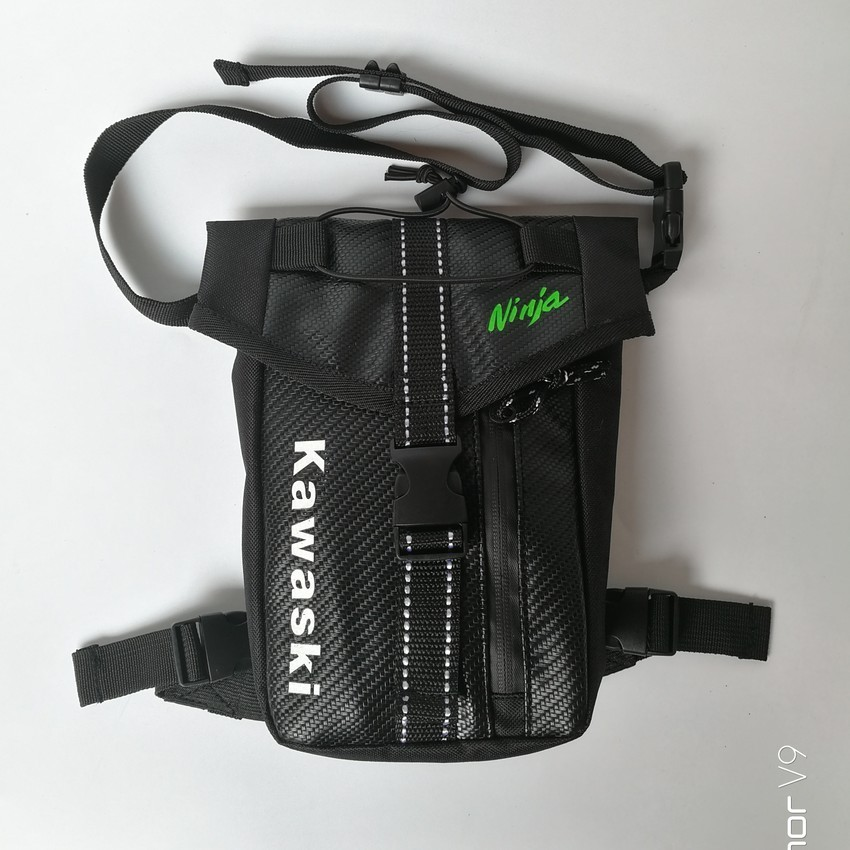 Motorcycle Leg Bag Motorcycle Drop Leg Motorcycle Cycling Fanny Pack Waist Belt Moto Bag Outdoor Camping Fishing Climbing Travel