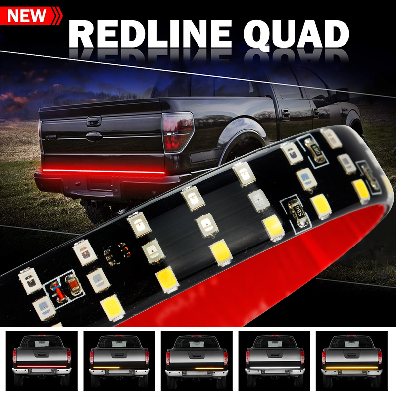 60inch 432LED Truck Portellone LED Light Strip Bar con funzione Reverse Brake Turn Signal Jeep Pickup SUV Dodge