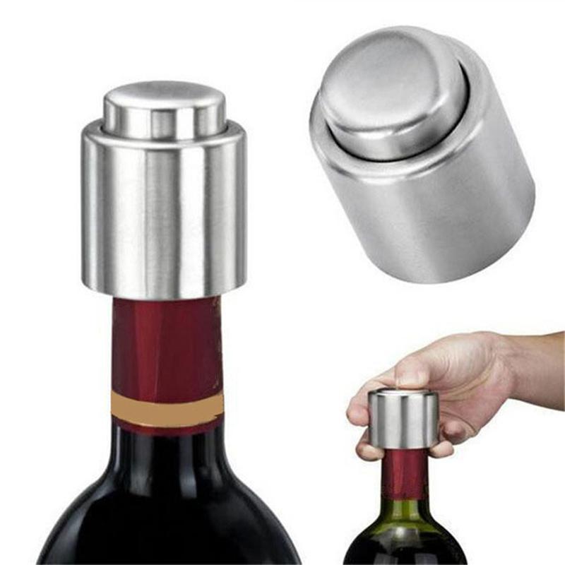 2x Wein Trichter Flasche Ausgießer Stopfen Lagerung versiegelte Stecker Kappe