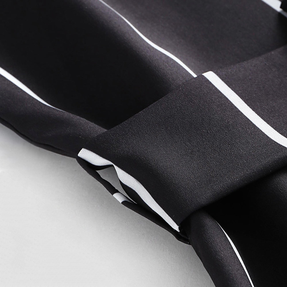 Wipalo Spaghetti Strap Backless Stripe Print Belt Romper Summer Halter Button Up Women Jumpsuit Beach Overalls Mini Q190429