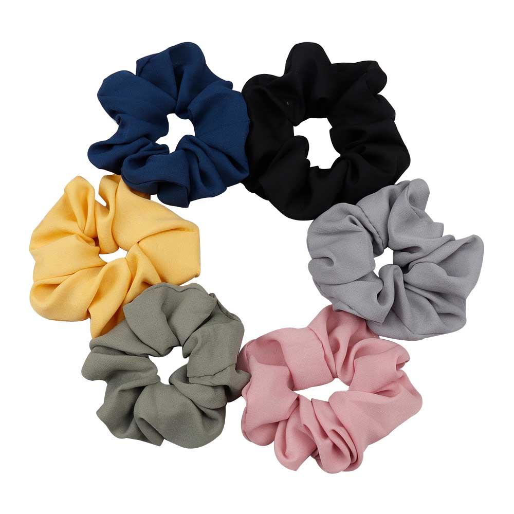 Schön Satin-Band Bow Bogen Haarband Clips Haarspange Pferdeschwanz-Halter,