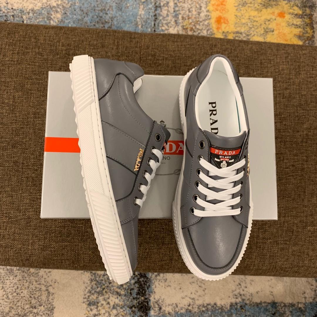 moda sapatos muito quente Fashion Trend Sneakers Couro de alta qualidade Man Casual Jogging Tamanho