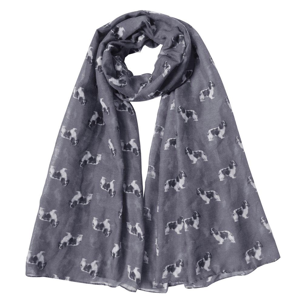 Terrier irlandais Foulard Chien Race Imprimer écharpes imprimé femme fashion femme châle