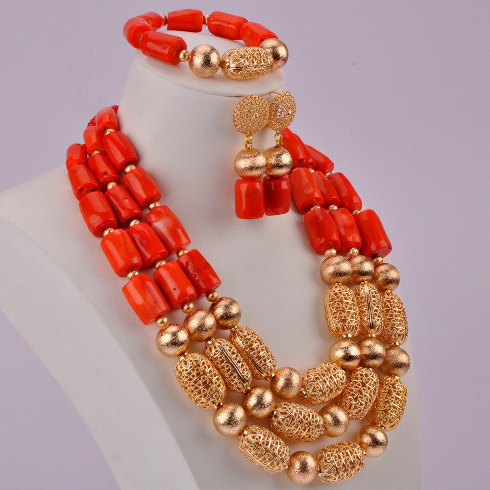 Orange Coral Beads-05-190 (3)