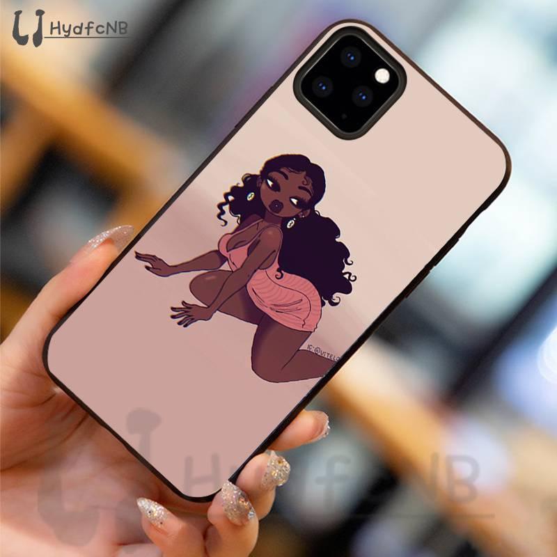 Fashion african black girl