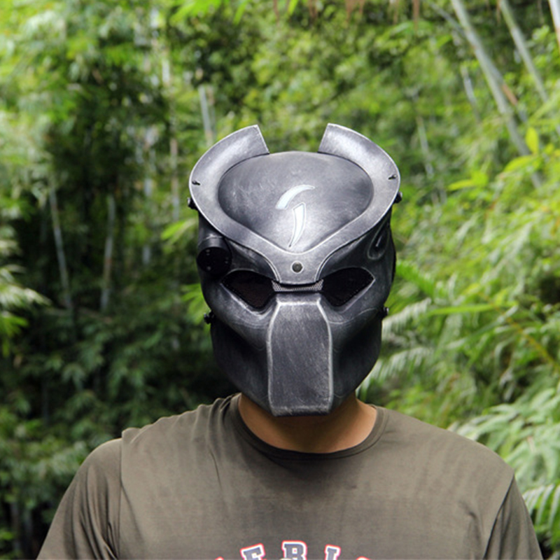 Alien-Vs-Predator-Lonely-Wolf-Mask-With-lamp-Outdoor-Wargame-Tactical-Mask-Full-Face-CS-Mask (4)