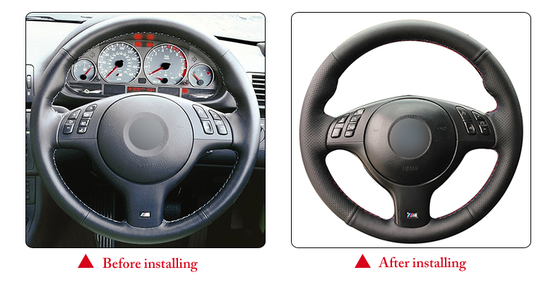 for BMW M3 2001 steering wheel cover