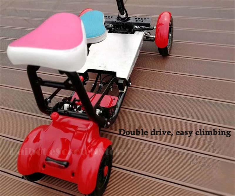 Daibot Four Wheel Electric Skateboard Portable Electric Scooters 10 Inch 36V Foldable Electric Scooter For DisabledElderly (8)