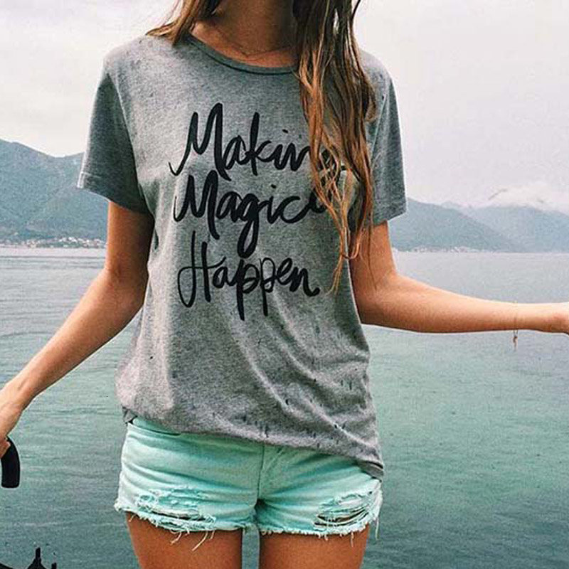 New--Summer-Women-T-shirt-Printed-Magic-Letters-Fashion-O-Neck-Short-Sleeve-Loose-Tee (1)
