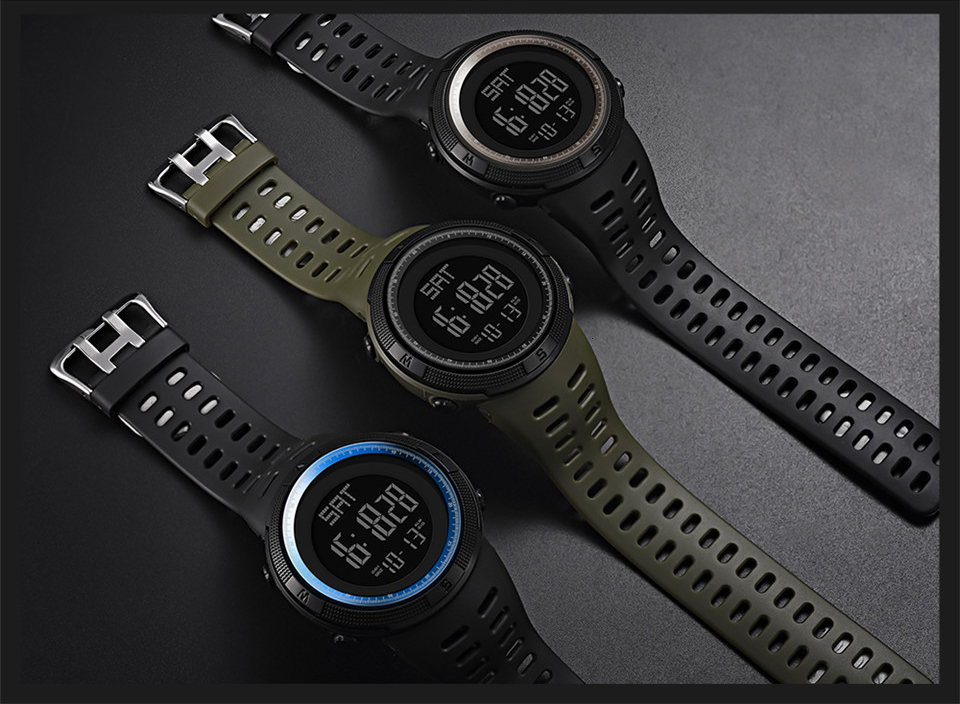 Sports Watch Men Digital Electronic Wrist Watch Waterproof LED Fitness Outdoor Watch For Running Chronograph Wristwatch Relojes (8)
