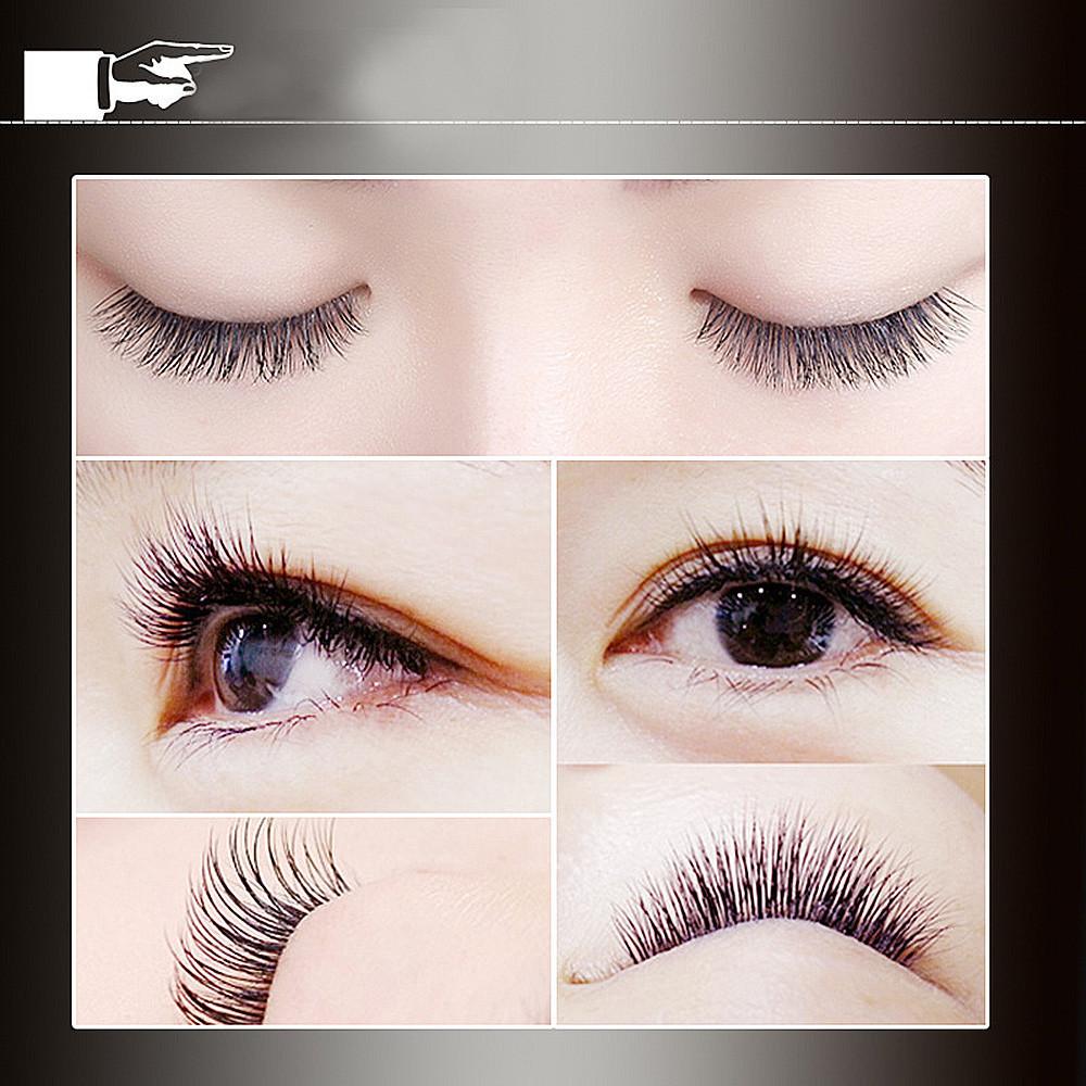 False Eyelash Professional Black 60 Clusters In 1 Tray Makeup Individual Eye Lashes Extension Grafting