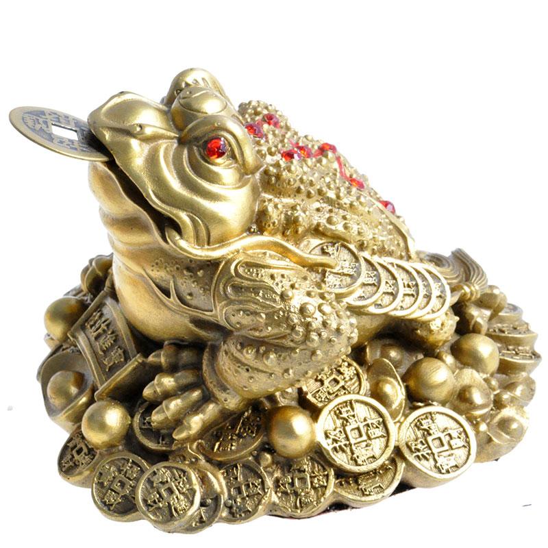 satz Frosch Kröte Feng Shui Geld Glück Glück Chinesischen 2 teile