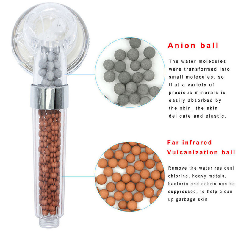 Practical Shower Head With Hose Replacement Water Saving Filtration Handheld Shower Head Set Alcachofa Ducha ??? 30AUG27 (5)