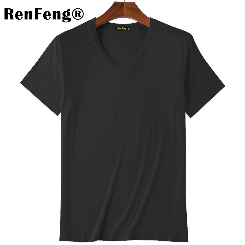 2018 Summer Brand Men's Short-sleeved Cotton skinny T-shirt Shirt Solid Casual O-Neck Male Tops & Tees Plus Size Under Shirt (1)