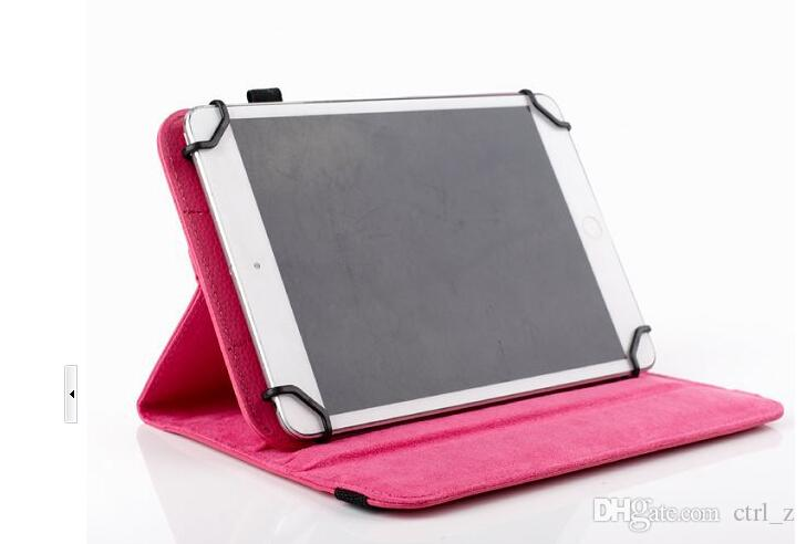 Universal 360 rotating case cover skin shell for 7 inch 8'' 9'' 10'' tablet MID Q88 A13 Galaxy tab 4 7.0 10.1 T230 T530 ipad mini air Stand