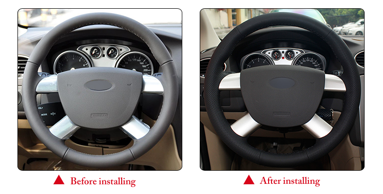 for Ford Kuga steering wheel cover