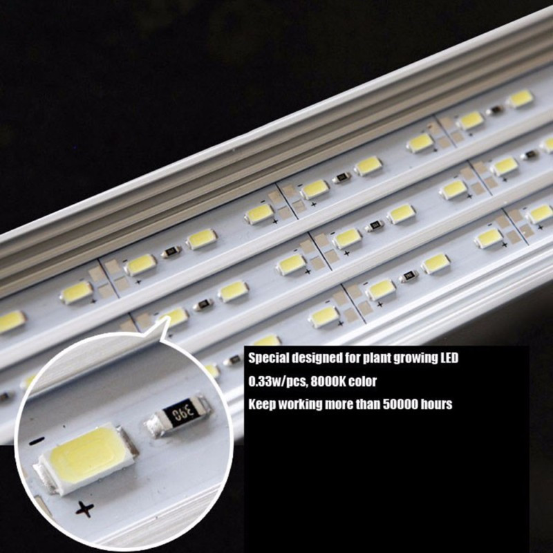 A-Series Aquarium 5730 LED Lamp 12-39W LED Fish Tank Light 100~240v Brief Aquarium Aquatic Water Plant Grow Light5